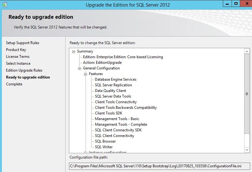 get product key sql server 2012