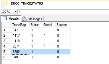 How to Enable, Disable or Check SQL Server Trace Flags?
